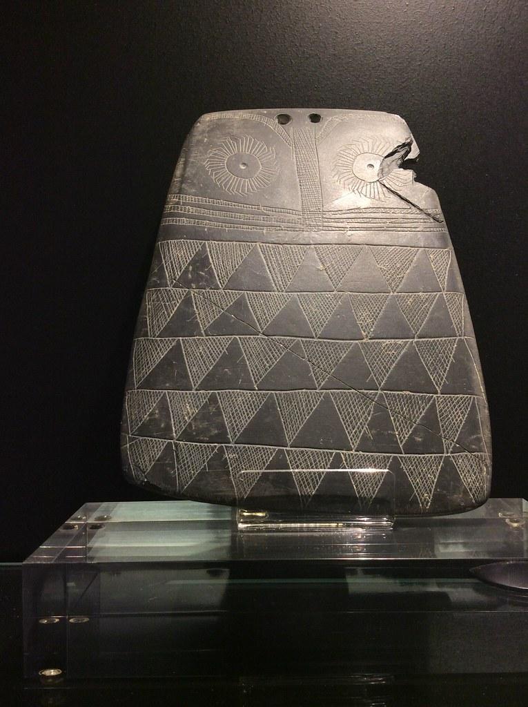 Statue de hibou dans le Musée archéologique de Séville