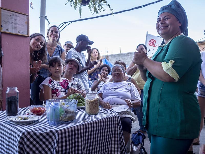 Intercâmbio RFS na Babilônia   1st Sustainable Favela Network Exchange of 2019 in Babilônia