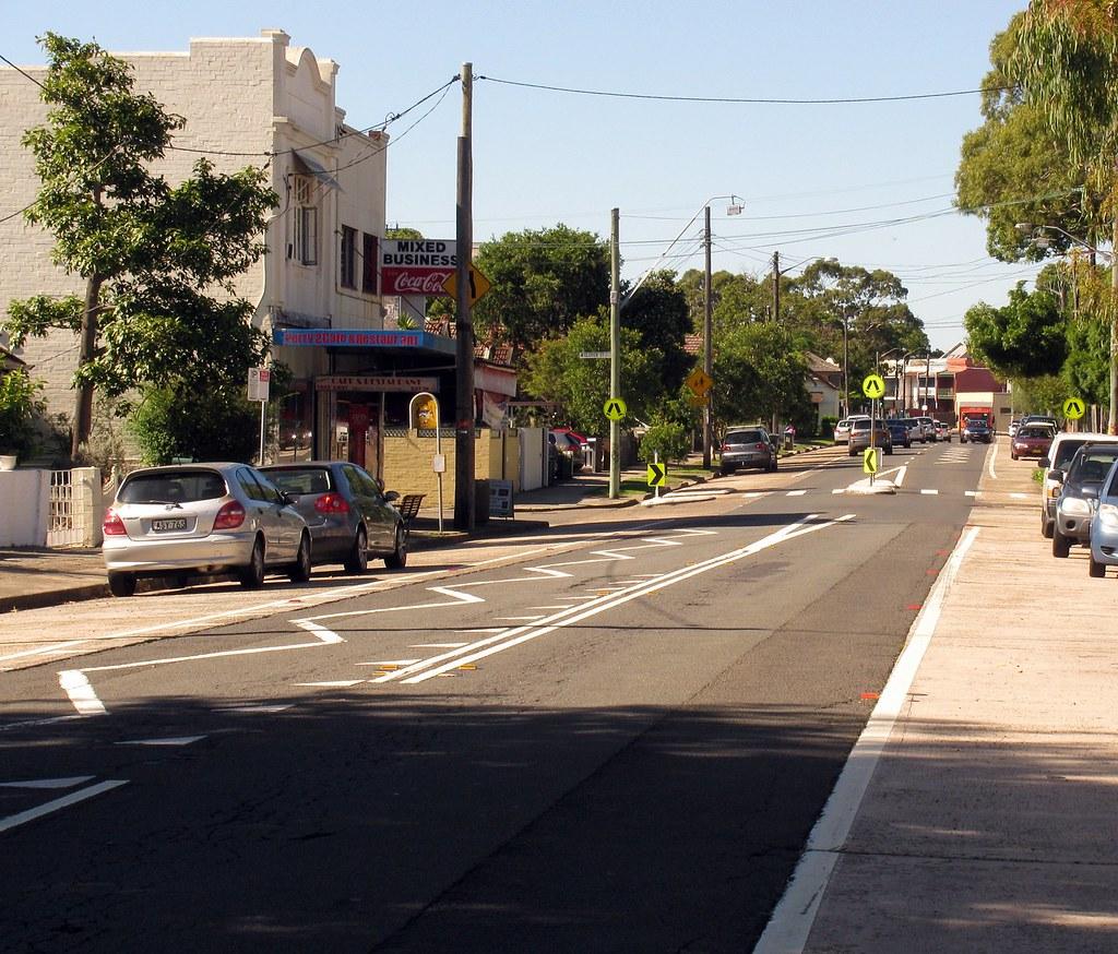Tramway Strip, Lilyfield, Sydney, NSW.