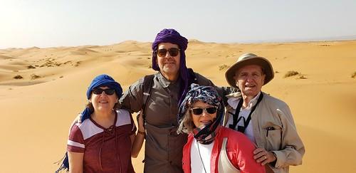 On the Sahara dunes