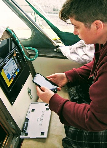 Syncing with the Simrad | by Sovereign Nations