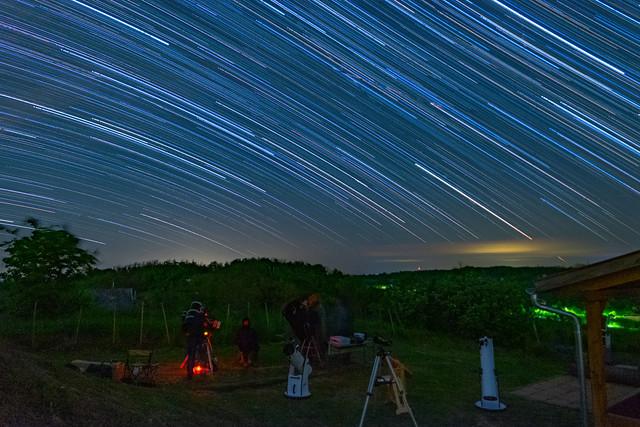 VCSE - Csillagívek - Ágoston Zsolt felvéetele. Képei 2019. ápr. 27-én, illetve 27/28-a éjszakáján készültek