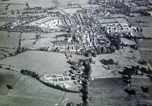 WWII Airfields near Harlow