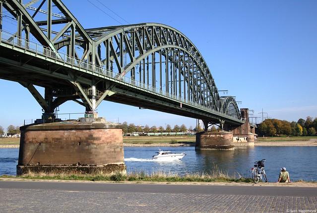 Kölner Südbrücke am 15.10.18