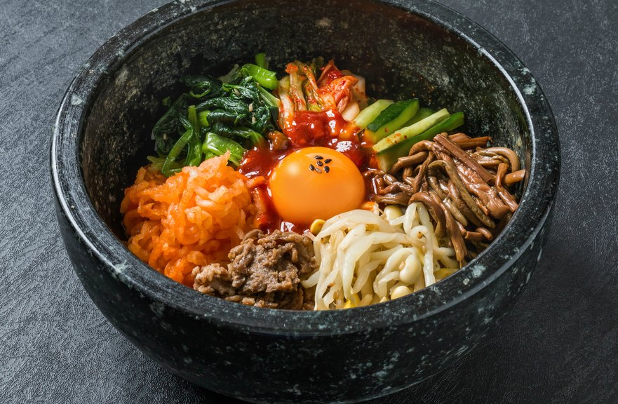 What to eat in Seoul Korea - Bibimbap