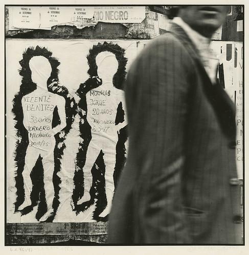 Ataúlfo Pérez Aznar Argentina (b. 1955) Desaparecidos, Calle 6 entre 46 y 47, La Plata, 1983 © Courtesy of the artist