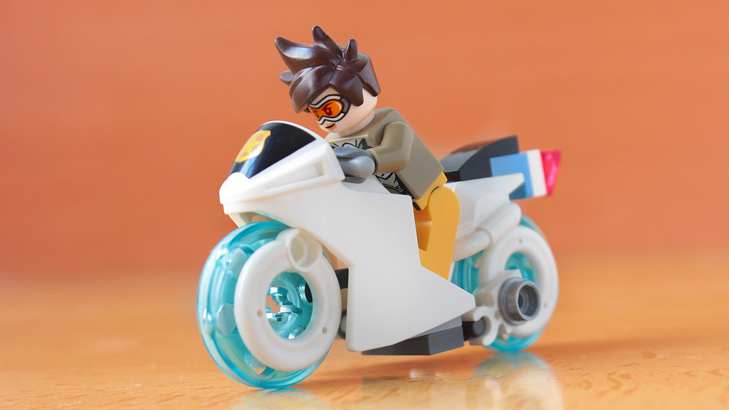 Lego Hover bike from Overwatch Storm Rising