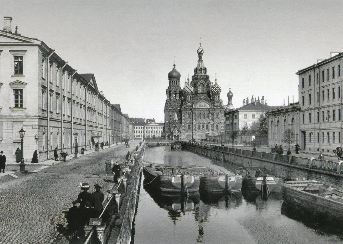 Екатерининский канал, 1907