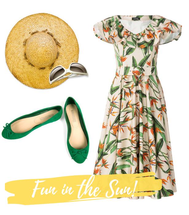 Retro Dress Fun in the Sun