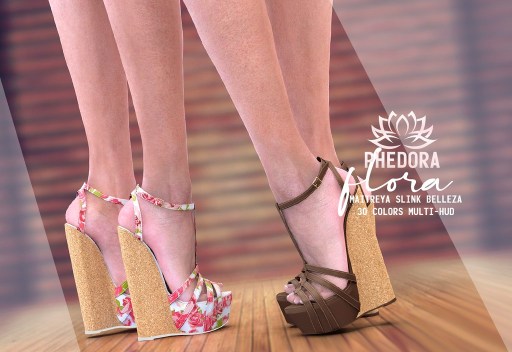 "Phedora. for FaMESHed – ""Flora"" platforms ♥"