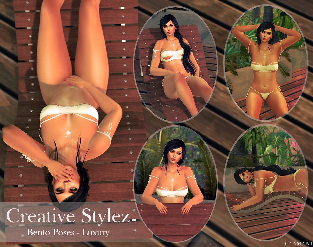 Creative Stylez – Bento Poses – Luxury –