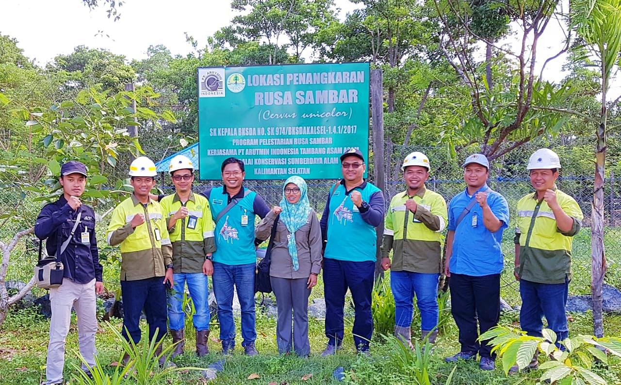 Pembinaan Penangkar Rusa Sambar di SKW 1 Pelaihari (02)