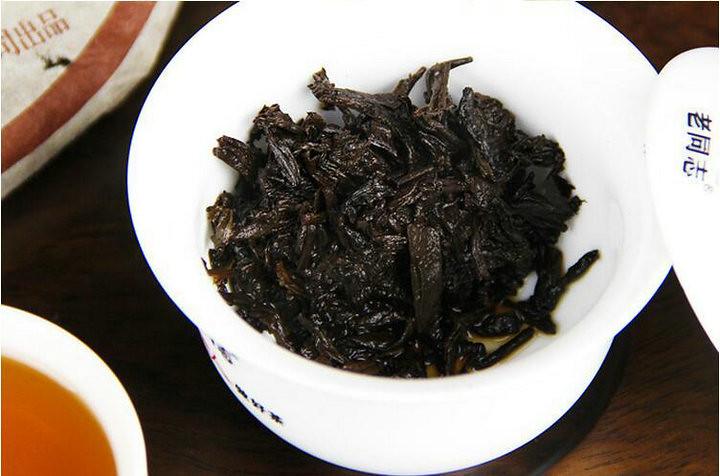 2005 HaiWan LaoTongZhi  Zi Ya Cake 357g Puerh Shou Cha Ripe Tea Batch 501