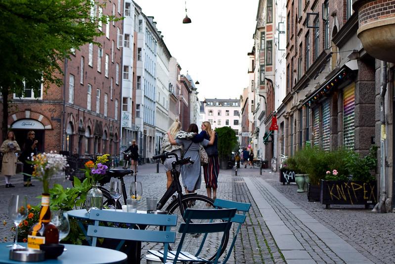 Tre vänner i Köpenhamn