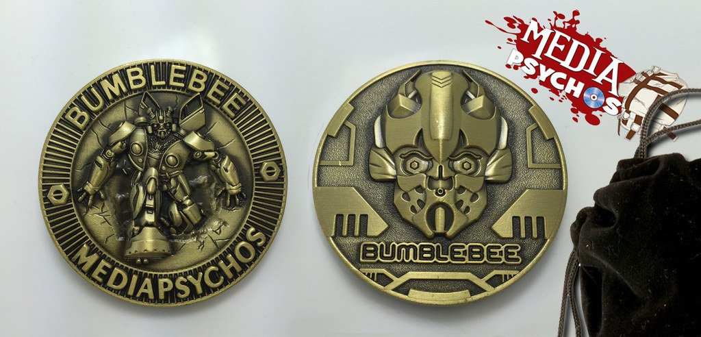 Bumblebee - Media Psychos - Collector's Coin