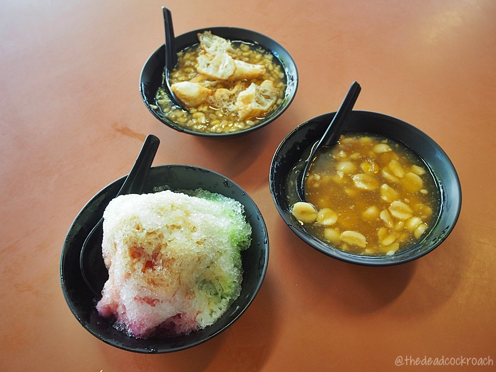 dessert, food, food review, ice kachang, lian zi suan, review, singapore, soon  heng hot & cold desserts, tanglin halt, tanglin halt food centre, tau suan, 順兴清甜五味汤