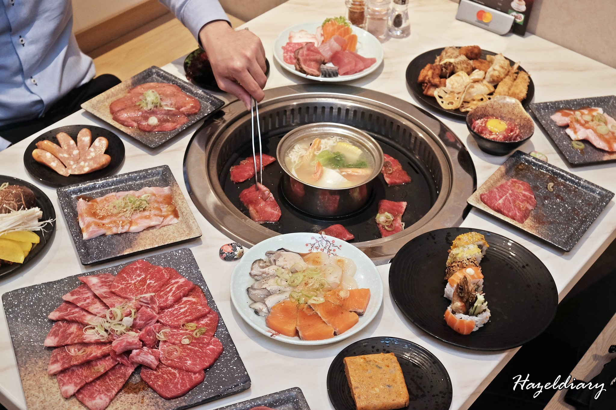 [SG EATS] Tenkaichi Japanese BBQ Restaurant At Cineleisure Mall