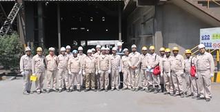 Qatar Steel, LOTO simulation team