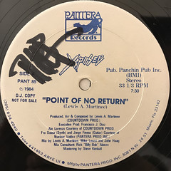 X-POSED:POINT OF NO RETURN(LABEL SIDE-A)