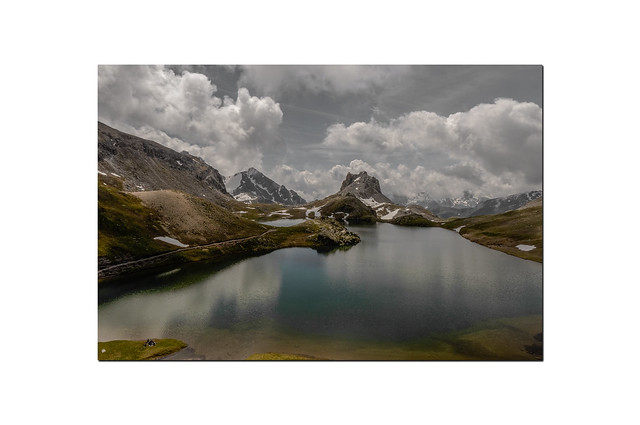 Le lac du Roburent...................Italie.