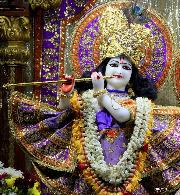 ISKCON Juhu Mangal Deity Darshan on 3rd May 2019