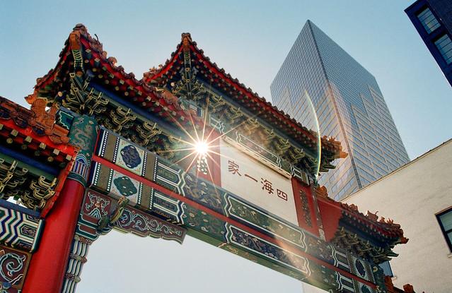 Chinese Gateway, Portland