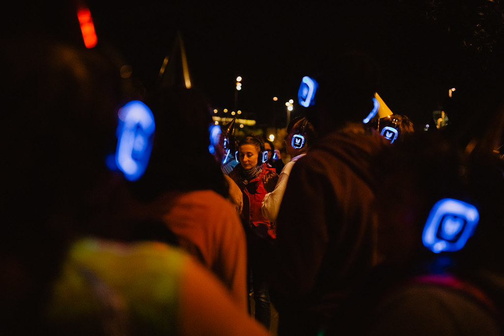 Silent Disco Citywalk Anniversary - International Jazz Day by Papaya Stories