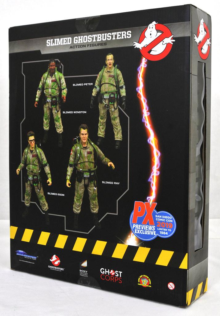 全身都被噴滿史萊姆的有趣造型!Diamond Select Toys《魔鬼剋星》魔鬼剋星 可動人偶套裝組 Ghostbusters Action Figure Box Set【2019 SDCC 限定】