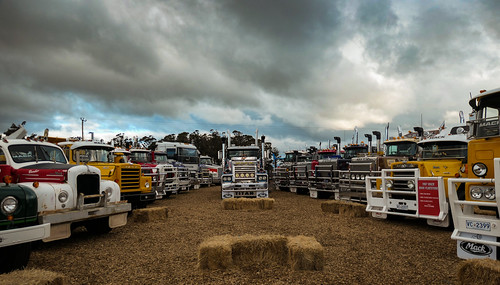 agfest tasmania australia trucks