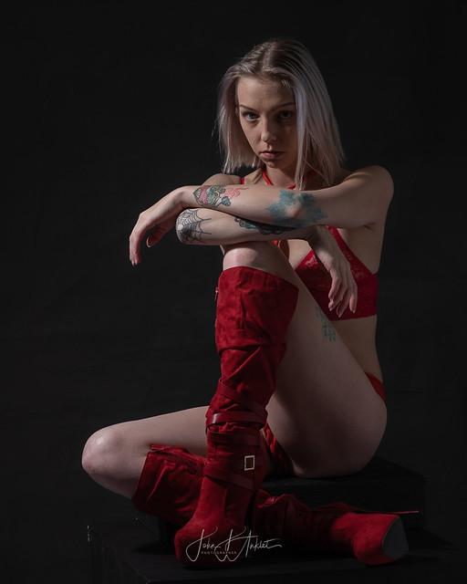 Red Rope Panties
