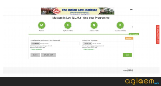 ILICAT 2019 Application Form