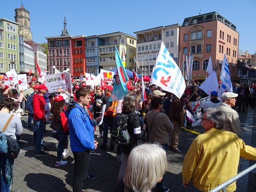Workers' Day 2019 in Stuttgart, Germany