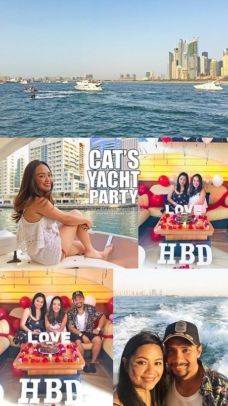 Cat's Yacht Party - Dubai Marina Yacht Club