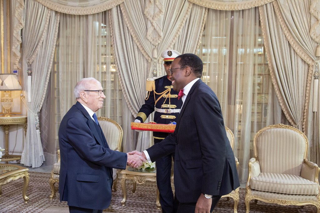 Meeting with the President of Tunisia, H.E Beji Caid el Sebsi