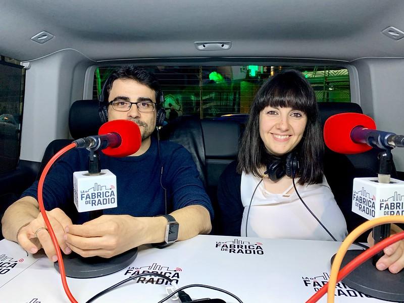 Foto TIB 2019 05 03 Carmen Garcia Espada y Roberto Fernandez La Fabrica de Radio
