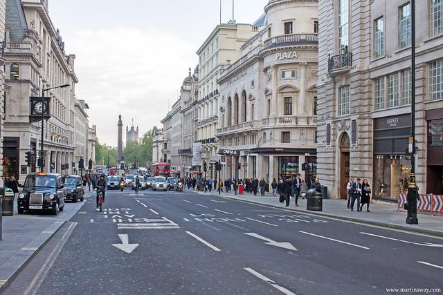 Una strada di Londra
