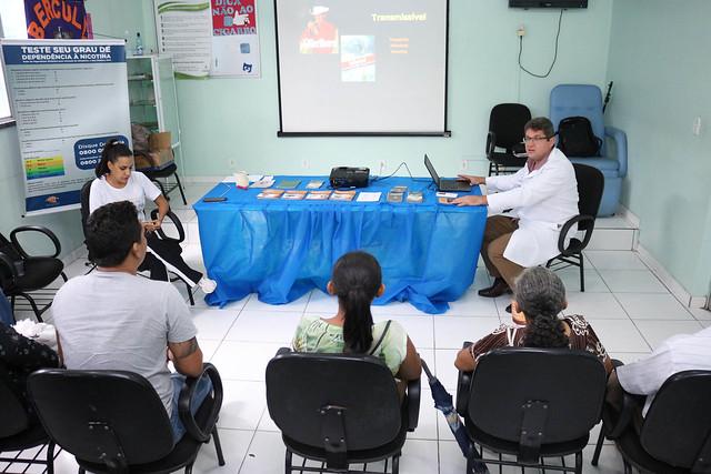 03.05.19 Início das atividades do 10º grupo do Ambulatório de Tabagismo