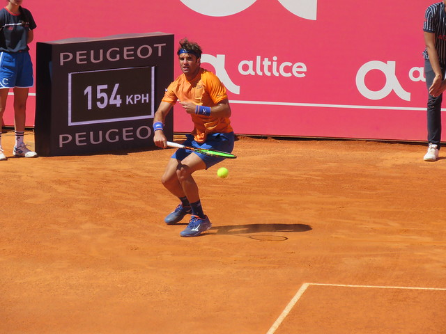 Malek Jaziri. Millenium Estoril Open 03.05.2019