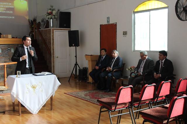 Primer Encuentro JUMEP Sector 9 año 2019 en Iglesia El Conquistador