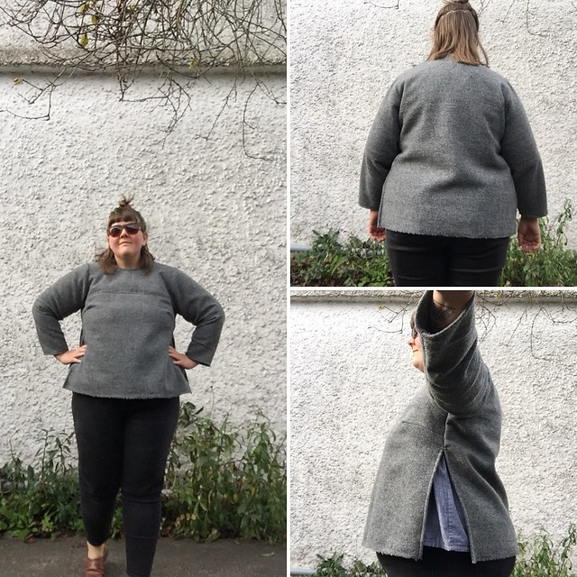 Boiled Wool Sweater Montrose Top