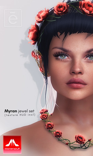 Ohemo - Myranflower set (SL-Womenstuff hunt May 2019)