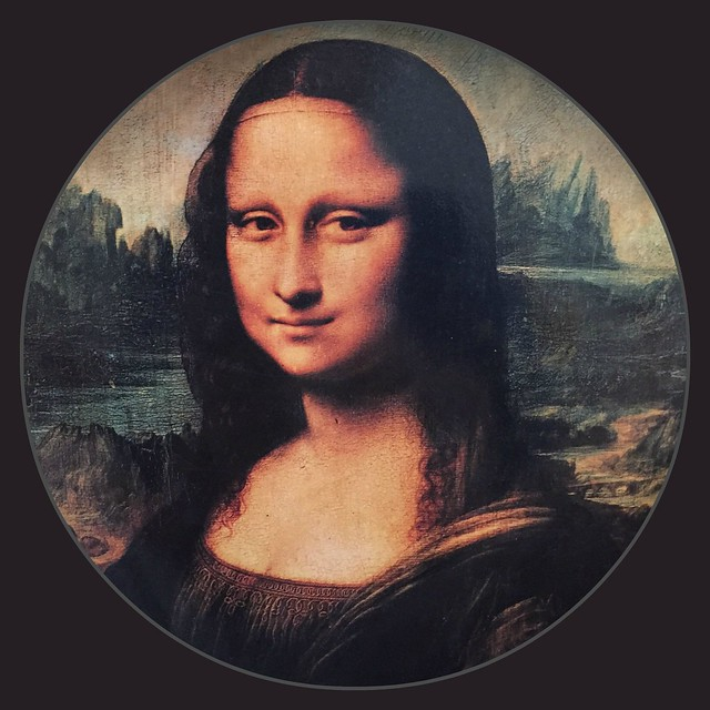 An Encircled Mona Lisa