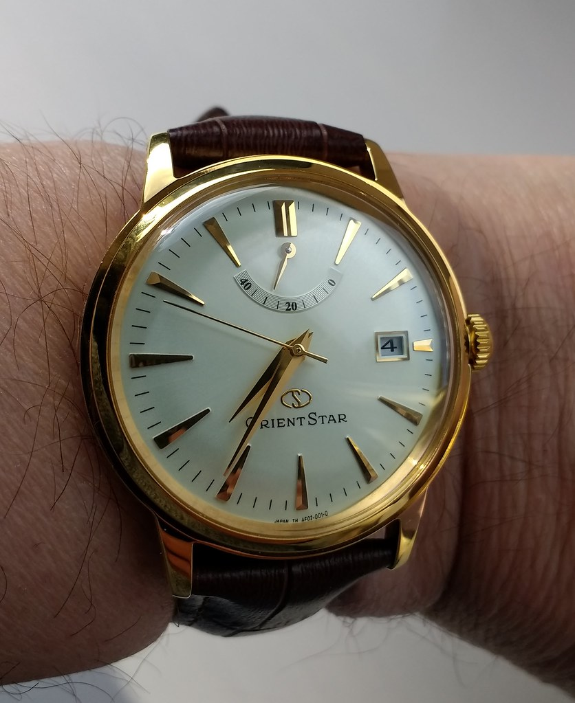 Orient Star Classic Power Reserve SAF02001S0 Cal 40N52