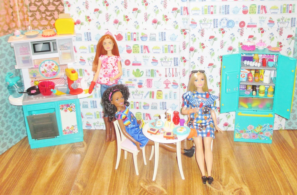 Video Opening The Pioneer Woman Kitchen Playset Barbie Flickr