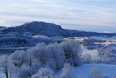 Ler lac d'Ilay en hiver