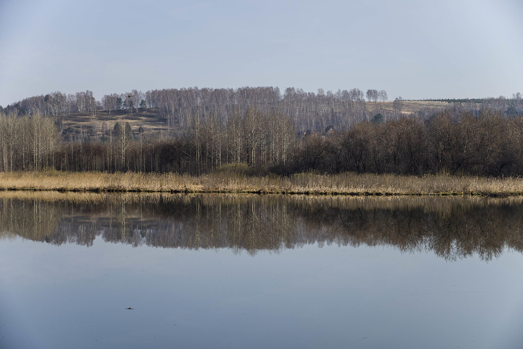 Утро на Суховском озере.
