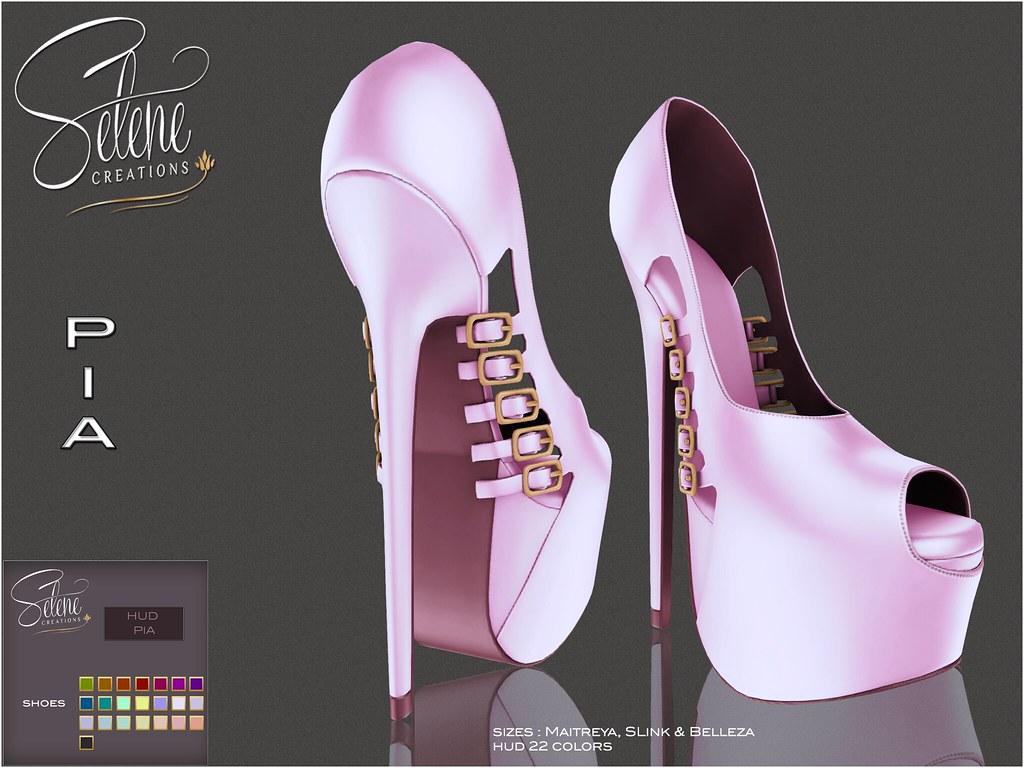 **Selene Creations** Pia Shoes - TeleportHub.com Live!