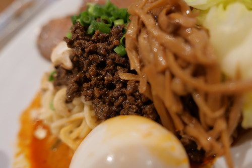 汁なし担担麺 Meat flakes Soupless dan dan noodles SP sirusi 03