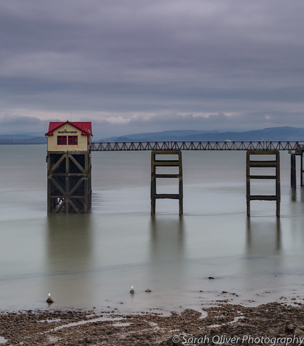 6d britain canon gower great kingdom landscape peninsular uk united wales mumbles pier lifeboat station launch jetty tourist travel long exposure mountains sky sea water boathouse victorian swansea bay coast