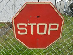 Square Font Stop